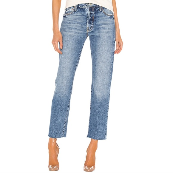 MOTHER the Scrapper Cuff Frayed Ankle Jeans